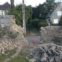 restauration de mur à minihic sur rance