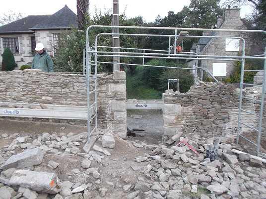 restauration de mur à minihic sur rance dscf8751