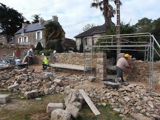 restauration de mur à minihic sur rance dscf8766